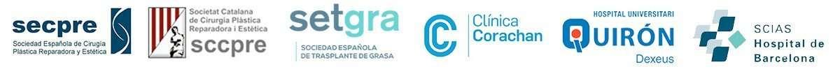 logotipos de asociaciones y hospitales