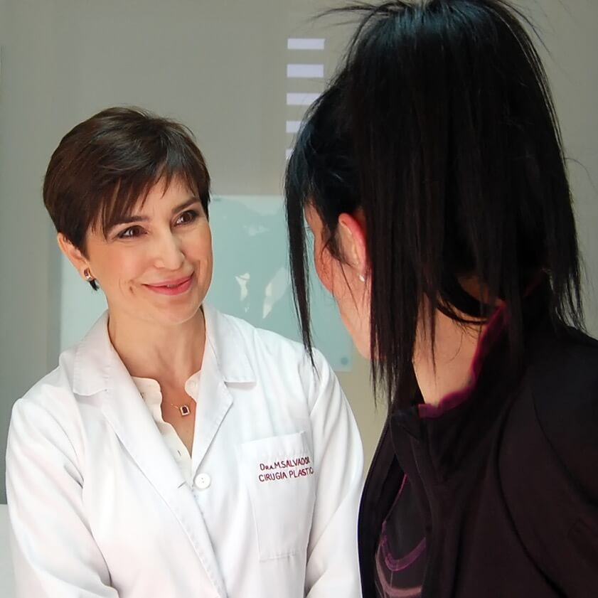 Dra Salvador visita preoperatoria