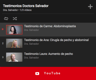 testimonios dra salvador youtube