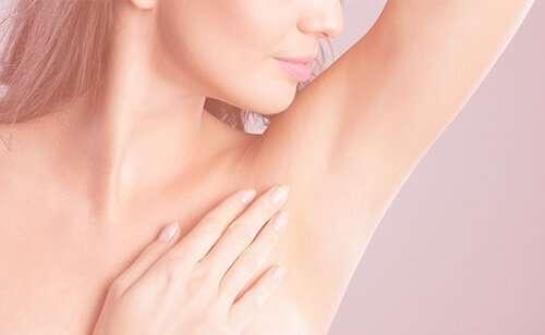 Botox axilar - Hipersudoración