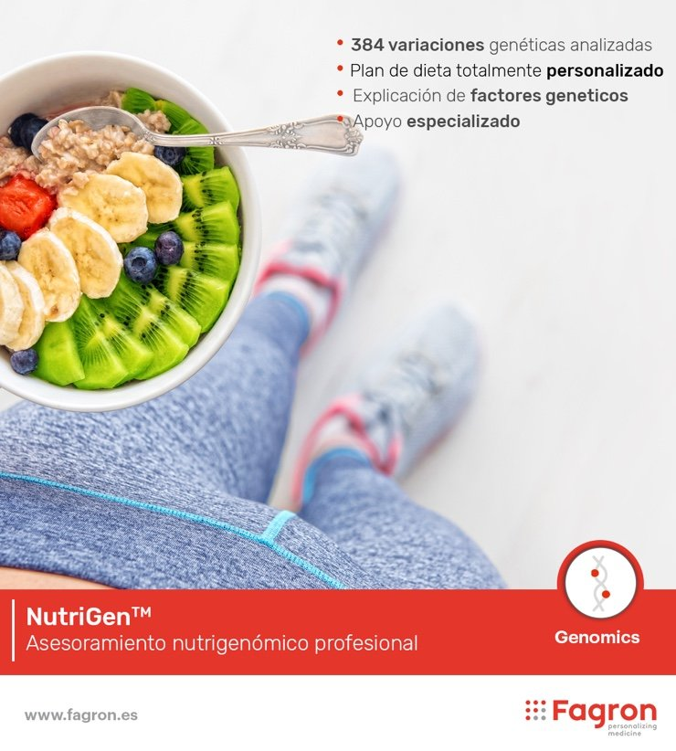 test genetico nutricion